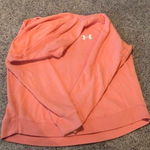 Under Armour salmon colored hoodie